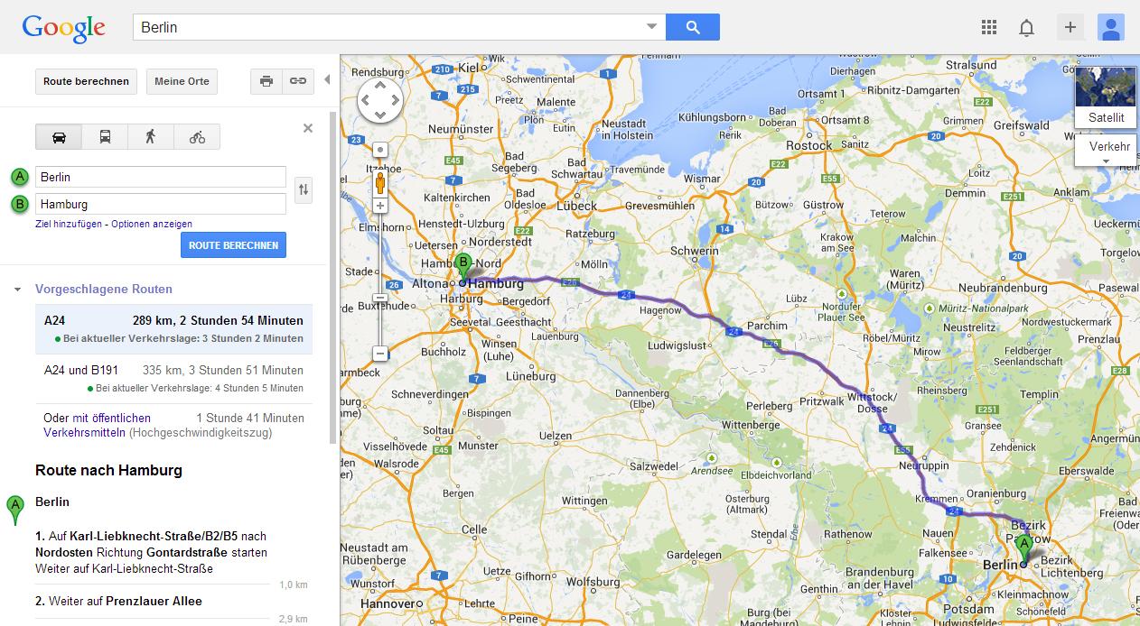 Standortverlauf Google