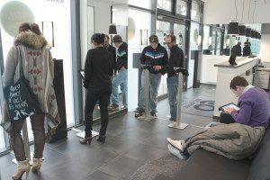 Am Firmenstandort in Hamburg Winterhude erprobte Edel Optics sein Store-Konzept bereits seit Mitte 2011