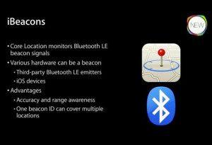 Apple stellte iBeacon 2013 vor.