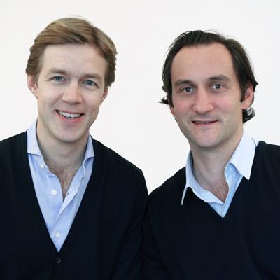 Max von Waldenfels (link) hat MyLorry 2013 zusammen mit Co-Geschäftsführer Benjamin Pochhammer gegründet