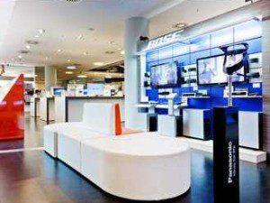 Die Cyberport-Stores sind edel aufgemacht, bieten aber wenig Neues