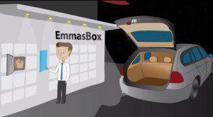 Bislang gibt es EmmaBox nur als Konzeptstudie - der Prototyp wird Mitte Februar auf der Euro Shop präsentiert