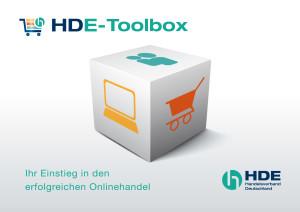 Die HDE-Toolbox vereint die Themenschwerpunkte Unternehmenswebseite, Social Media und E-Commerce