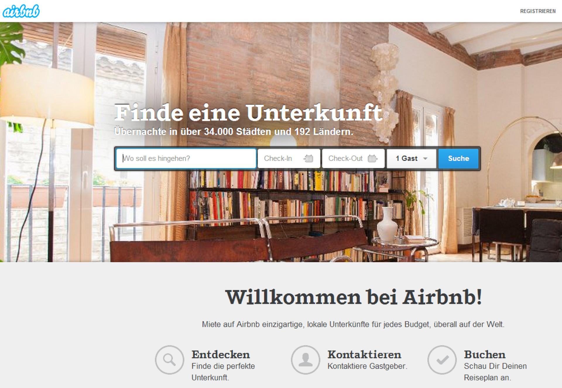 keine zeit zum feiern airbnb erh lt eine halbe mrd dollar. Black Bedroom Furniture Sets. Home Design Ideas
