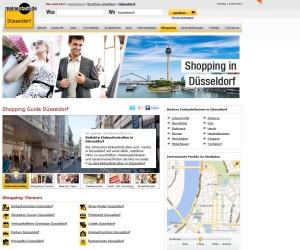 Die Shopping Guides von meinestadt.de bieten umfangreiche Präsentationsmöglichkeiten für den Handel
