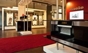"""""""Feel, smell, touch"""" - Miele will in seiner Gallery eine erlebnisorientierte Produktpräsentation bieten."""