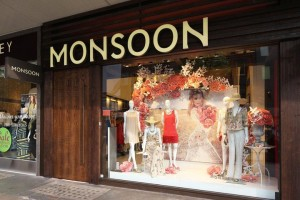 Der Monsoon Store an der Lonsoner Oxford Street