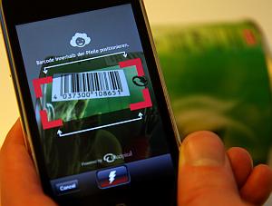 Gefürchtet: Vergleichs-Apps wie Barcoo auf dem Kunden-Smartphone