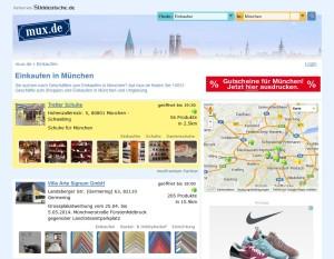 Vom Online-Schaufenster will sich Mux.de zum echten Produktangebot entwickeln