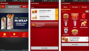 McD Ordering App McDonalds