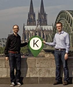 Die Koomio-Gründer Thomas Henz und Stefan Reimers