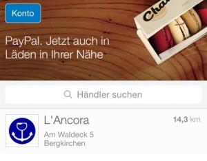"""Auch in München ist """"Einchecken mit PayPal"""" jetzt verfügbar - allerdings ist das Angebot noch ausbaufähig"""