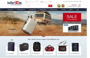 Der Onlineshop Koffer24.de existiert seit 2004