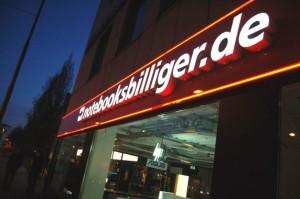 Notebooksbilliger.de betreibt inzwischen drei stationäre Stores