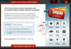 Snipda will mit Lockangeboten mehr Kunden in die Läden ziehen