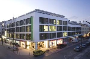 Der Store befindet sich im gleichen Haus wie die Büros von Sparhandy.de