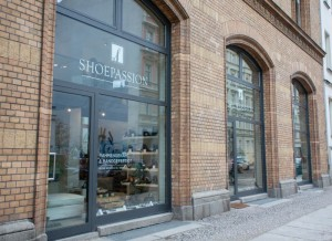 Der Shoepassion Store in der Ackerhalle in Berlin-Mitte