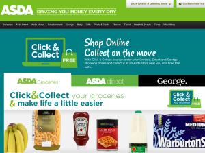 Asda Click Collect Pods