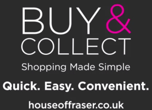 House of Fraser buy and collect