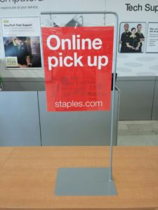 Online Pickup Staples Click Collect