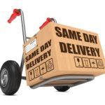 SDD Box - Same Day Delivery Slogan