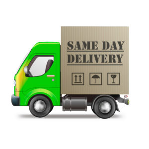 SDD same day delivery taggleiche Lieferung