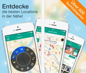 Where to Wohin App 7.0 neue Version