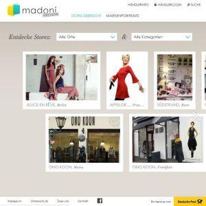 Trendig Pinterest-artig hatte sich DHL sein Einkaufsportal Madoni vorgestellt