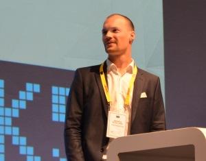 MyParfum-Gründer Matti Niebelschütz bei der K5 2014