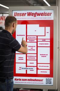 Am POS pures Vergnügen: Der neue Media Markt in Ingolstadt vereint On- und Offline-Einkaufserlebnis