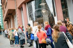 Mehr als 1.500 Fans kamen zu dem Popup-Store in Berlin-Mitte