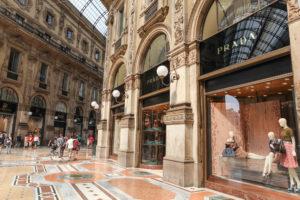 Prada-Filiale in Mailand