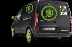 Neue Tracking-Features erprobt Tiramizoo auch mit eigenen Lieferfahrzeugen