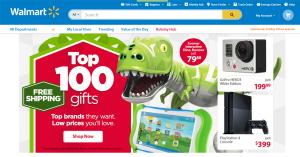 Walmart Webseite