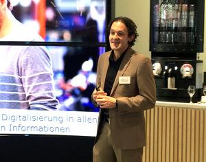 Martin Wild, Chief Digital Officer von Media-Saturn, zeigte Einblicke in die Zukunftsvision des Unternehmens