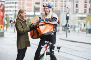Fahrradkurier Bike Amazon