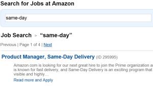 Neu Amazon SDD Job Angebote