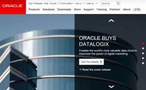 Oracle Datalogix
