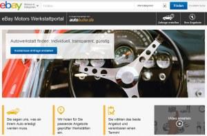Autobutler steht hinter dem neuen Werkstattportal von eBay Motors