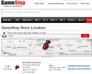 GameStop Locator