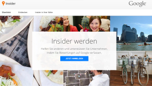 Google Insider City Experts Local Guides