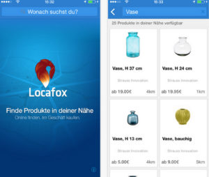 Die Locafox App ist bisher nur für iPhone erhältlich