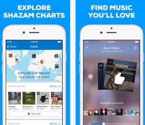 Shazam App iOS