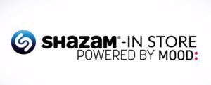 Shazam Instore Mood App