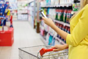 Smartphone Store laden Geschäft Mobile channel