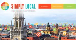 Die Idee von Simply-Local: die ganze Stadt auf einem Marktplatz