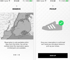 Adidas App Confirmed II Karte