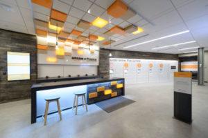 Amazon-Station in der Purdue-Universität in den USA.