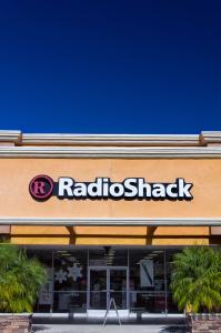 KLEIN Radioshack Filiale store geschäft