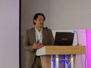 Media-Saturn-CDO Martin Wild bei seiner Keynote auf der Loca-Konferenz in München